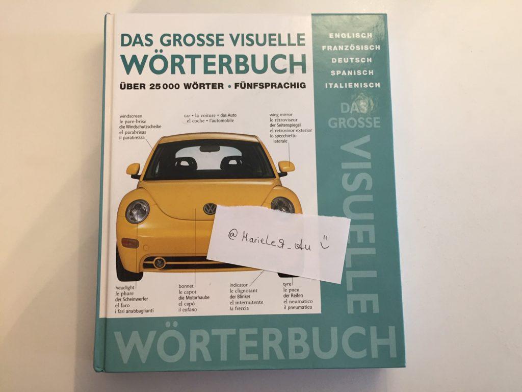 Kristina Kral Buchchallenge Das Visuelle Wörterbuch