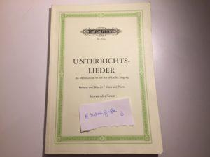 Kristina Kral Unterrichtslieder - Edition Peters