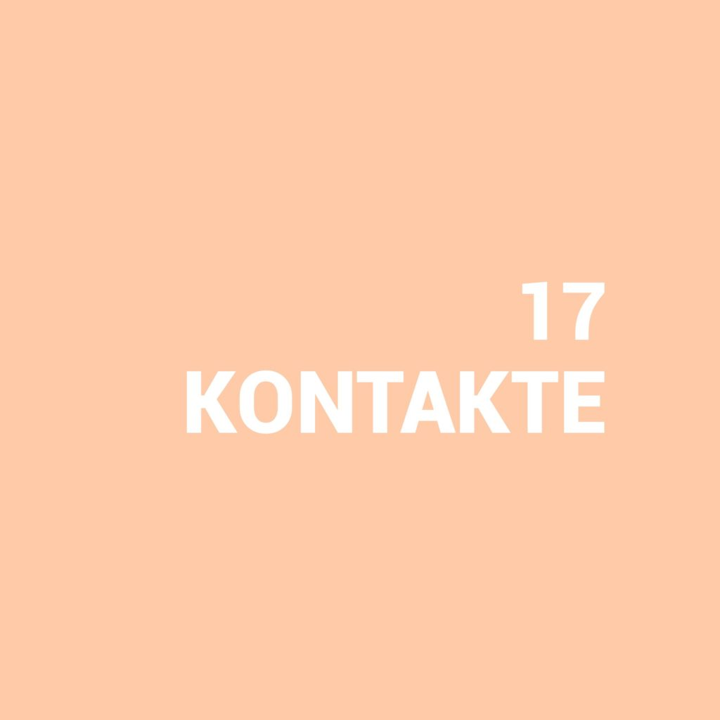 Kristina Kral | 17 Kontakte Minimalismus