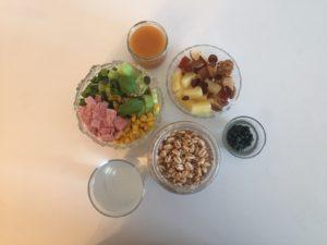 Frühstück Tag 4 - 887 kcal & 68 Prozent der Nährstoffziele Kristina Kral