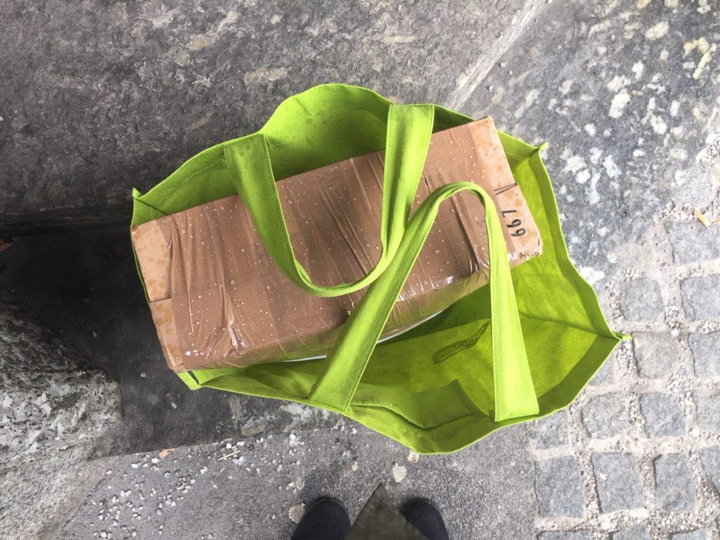 Kristina #108 Tasche mit Paket