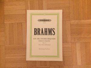 Kristina Kral #127 Brahms Ein Deutsches Requiem