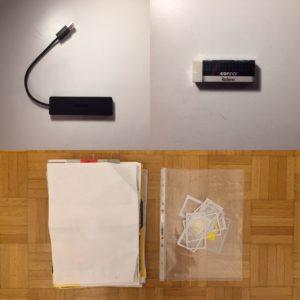 Kristina Kral #151 USB-Port-Verteiler Radiergummi Dokumente