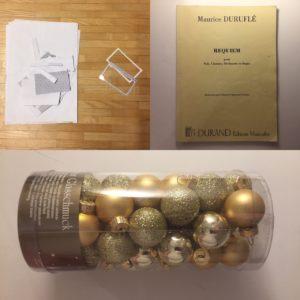 Kristina Kral #161 Unterlagen digitalisieren, Maurice Durufle Requiem, Weihnachtsschmuck