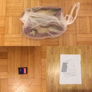 Kristina Kral #187 Schuhe, Speicherkartenadapter, Unterlagen digitalisieren