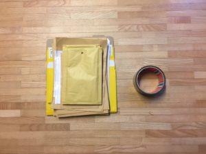 Kristina Kral #194 Material zum Post Versenden