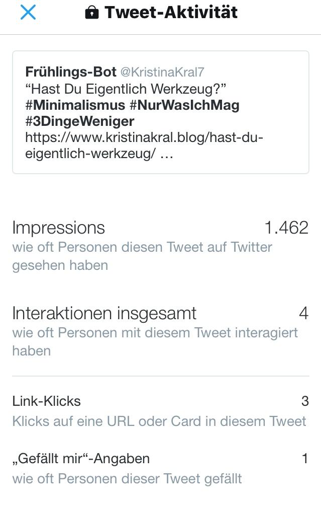 Kristina Kral - Klickrate Social Media - Posting ohne Gesicht - Hast Du eigentlich Werkzeug