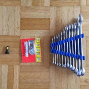 Kristina Kral #227 Schraubenschlüssel, Sicherheitsvorkehrung, Schraube