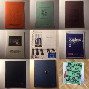 Kristina Kral #231 Hefte mit Chorliteratur, Blöcke, Dokumentenmappen, Jahresberichte