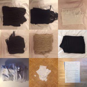 Kristina Kral #232 Schals, Unterlagen, Hose, Bettdeckenbezug