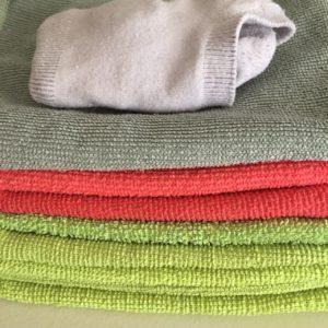 Kristina Kral #235 Microfasertücher und Socken