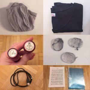 Das Bild zeigt 9 Gegenstände, die minimalisiert wurden   Kristina Kral, Minimalismus