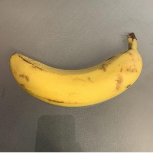 Das Bild zeigt eine Banane, Dessertbanane, Paradiesfeige (Fotograf: Kristina Kral)