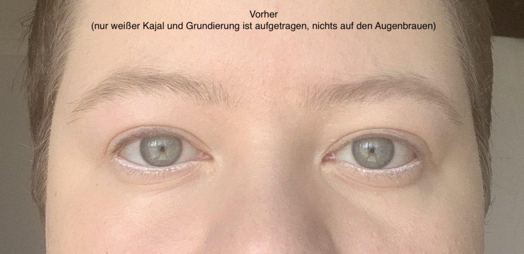 Das Bild zeigt ein natürliches Augenbrauenpaar