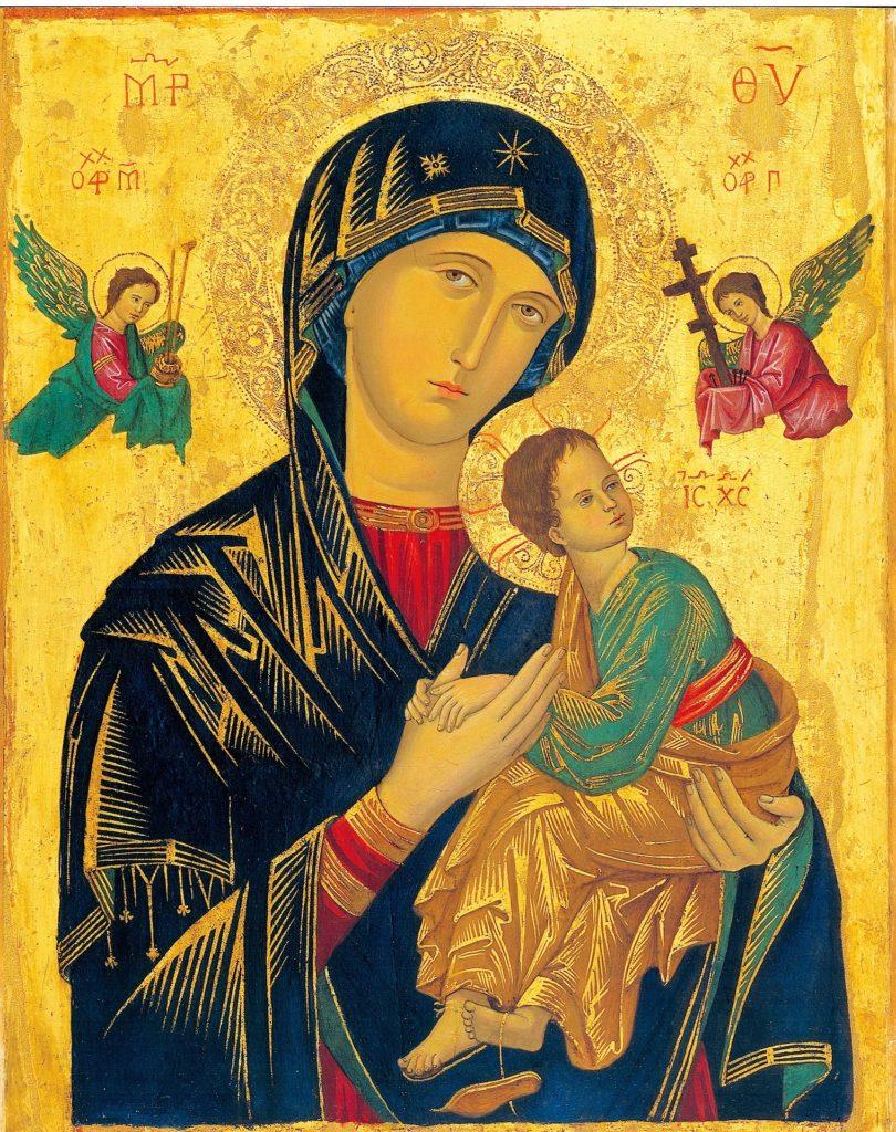 Gemälde: Maria mit Jesus