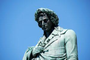 Friedrich Schiller Statue