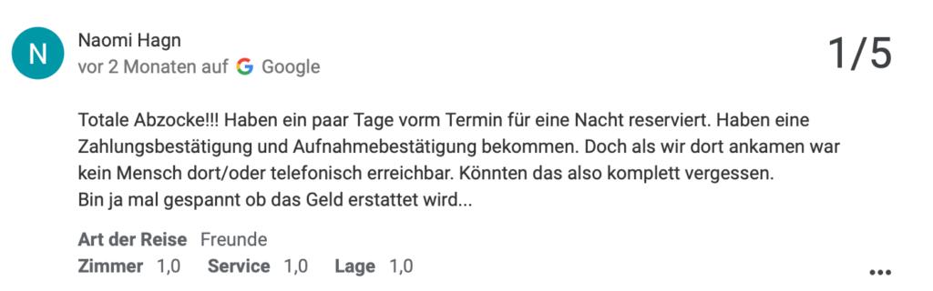 a & o Hostel Salzburg Hauptbahnhof | Buchen, Zahlen, aber keine Leistung bekommen