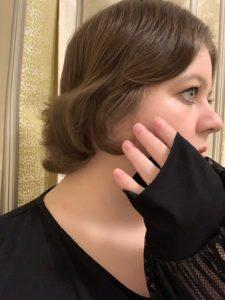Haare elf Monate nach Spende und Rasur   Kristina Kral